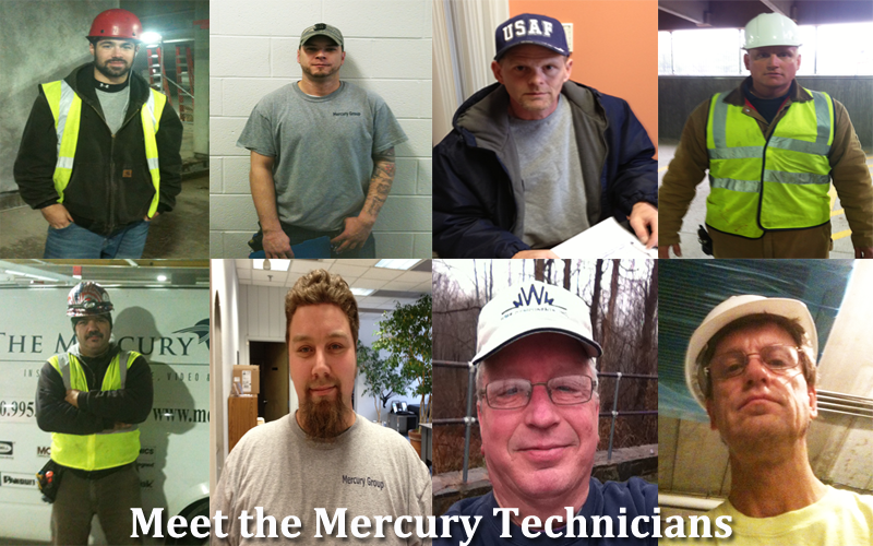 mercury voice and data and electrical technicians